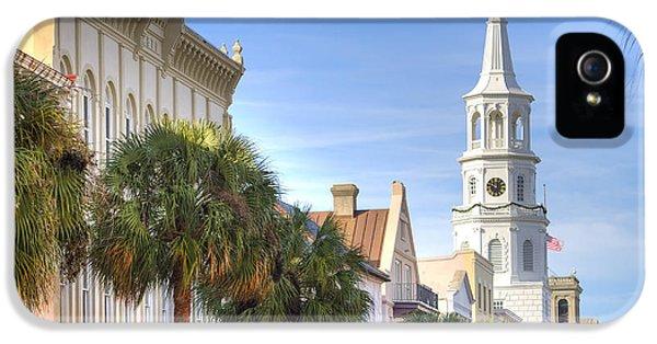 St Michaels Church Charleston Sc IPhone 5 / 5s Case by Dustin K Ryan