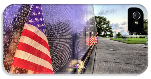 Vietnam Memorial iPhone 5 Cases - The Wall iPhone 5 Case by JC Findley
