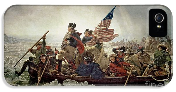Washington Crossing The Delaware River IPhone 5 / 5s Case by Emanuel Gottlieb Leutze