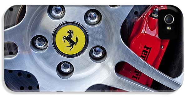 2000 Ferrari Wheel IPhone 5 / 5s Case by Jill Reger