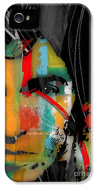 Born To Run iPhone 5 Cases - Bruce Springsteen Collection iPhone 5 Case by Marvin Blaine