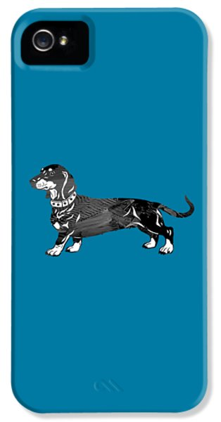 Dachshund Collection IPhone 5 / 5s Case by Marvin Blaine