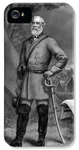 General Robert E Lee IPhone 5 / 5s Case by War Is Hell Store