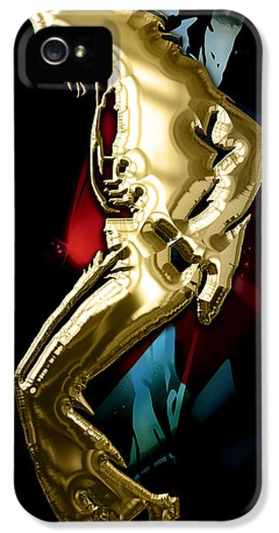 Michael Jackson iPhone 5 Cases - Michael Jackson Collection iPhone 5 Case by Marvin Blaine