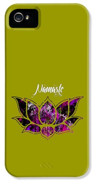Namaste IPhone 5 / 5s Case by Marvin Blaine