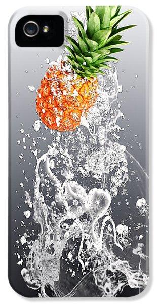 Pineapple Splash IPhone 5 / 5s Case by Marvin Blaine