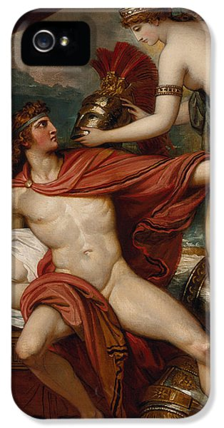 Classical iPhone 5 Cases - Thetis Bringing the Armor to Achilles iPhone 5 Case by Benjamin West