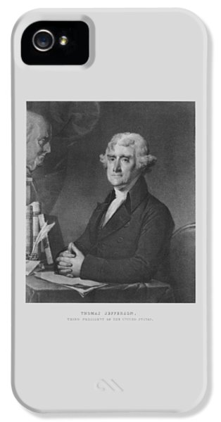 Declaration iPhone 5 Cases - Thomas Jefferson iPhone 5 Case by War Is Hell Store
