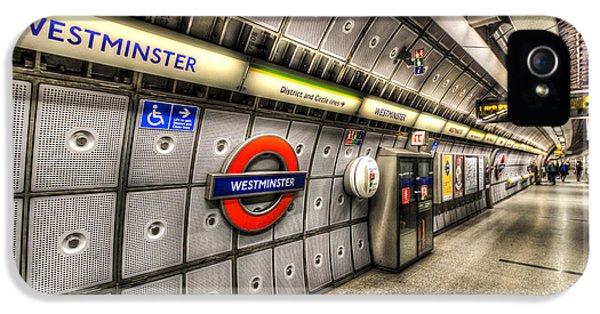 Underground London IPhone 5 / 5s Case by David Pyatt