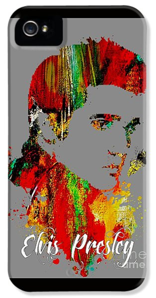 Elvis Presley Collection IPhone 5 / 5s Case by Marvin Blaine