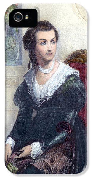 First Lady iPhone 5 Cases - Abigail Adams (1744-1818) iPhone 5 Case by Granger