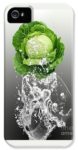 Cabbage Splash IPhone 5 / 5s Case by Marvin Blaine