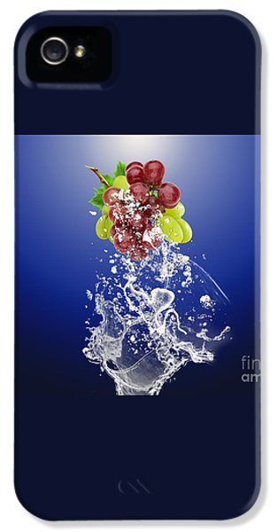 Grape Splash IPhone 5 / 5s Case by Marvin Blaine