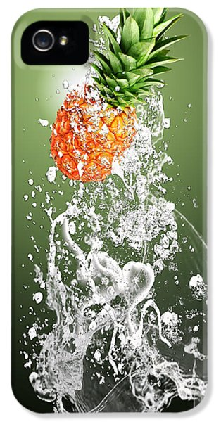 Pineapple Splash IPhone 5 / 5s Case by Marvin Blaine
