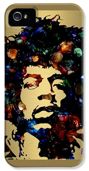 Jimi Hendrix Collection IPhone 5 / 5s Case by Marvin Blaine