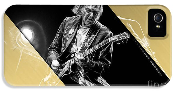 Neil Young Collection IPhone 5 / 5s Case by Marvin Blaine