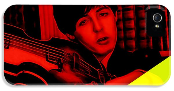 Paul Mccartney iPhone 5 Cases - Paul McCartney Collection iPhone 5 Case by Marvin Blaine