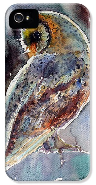 Barn Owl IPhone 5 / 5s Case by Kovacs Anna Brigitta