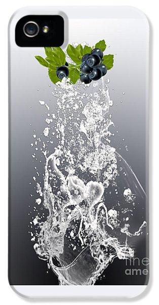 Blueberry Splash IPhone 5 / 5s Case by Marvin Blaine