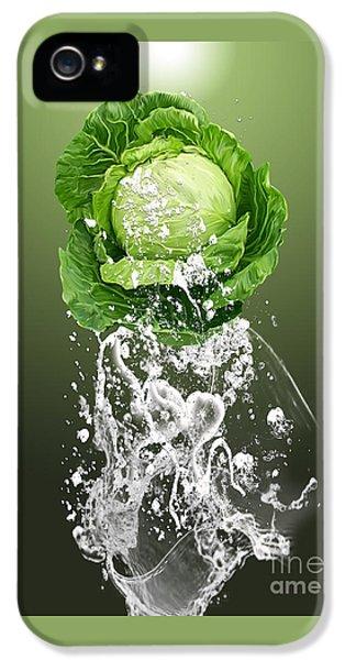 Cabbage Splash IPhone 5 / 5s Case by Marvin Blaine