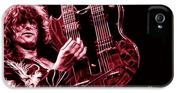 Jimmy Page Collection IPhone 5 / 5s Case by Marvin Blaine