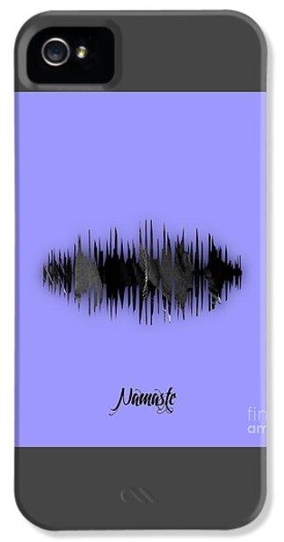Namaste Spoken Soundwave IPhone 5 / 5s Case by Marvin Blaine
