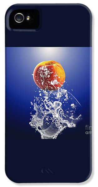 Peach Splash IPhone 5 / 5s Case by Marvin Blaine
