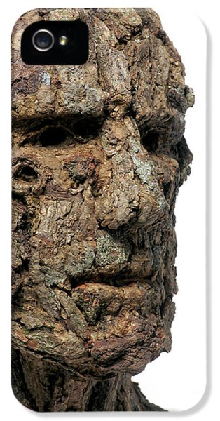 Ent iPhone 5 Cases - Revered A natural portrait bust sculpture by Adam Long iPhone 5 Case by Adam Long