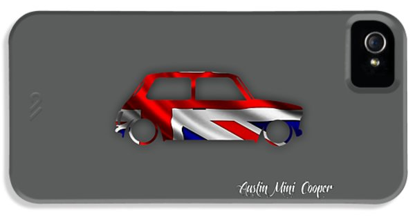 Austin Mini Cooper IPhone 5 / 5s Case by Marvin Blaine