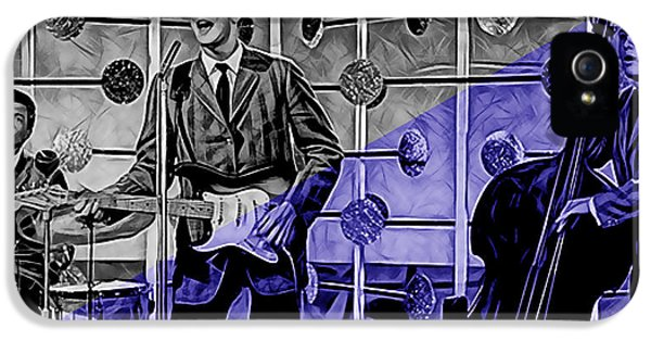 Buddy Holly And The Crickets IPhone 5 / 5s Case by Marvin Blaine