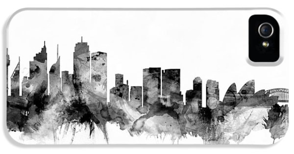 Sydney Australia Skyline IPhone 5 / 5s Case by Michael Tompsett