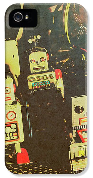 60s Cartoon Character Robots IPhone 5 / 5s Case by Jorgo Photography - Wall Art Gallery