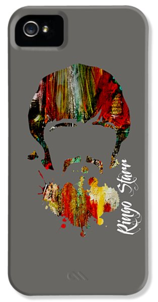 Ringo Starr iPhone 5 Cases - Ringo Starr Collection iPhone 5 Case by Marvin Blaine