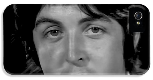 Paul Mccartney Collection IPhone 5 / 5s Case by Marvin Blaine