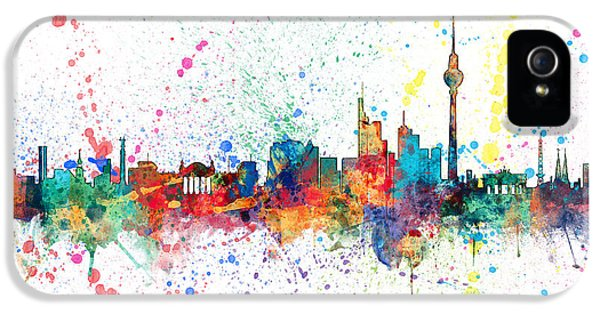 Berlin Germany Skyline IPhone 5 / 5s Case by Michael Tompsett