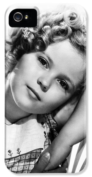 Shirley Temple (1928-  ) IPhone 5 / 5s Case by Granger