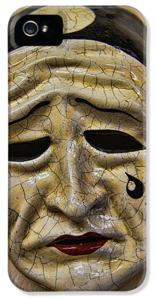 Masquerade iPhone 5 Cases - Venetian Carnaval Mask iPhone 5 Case by David Smith