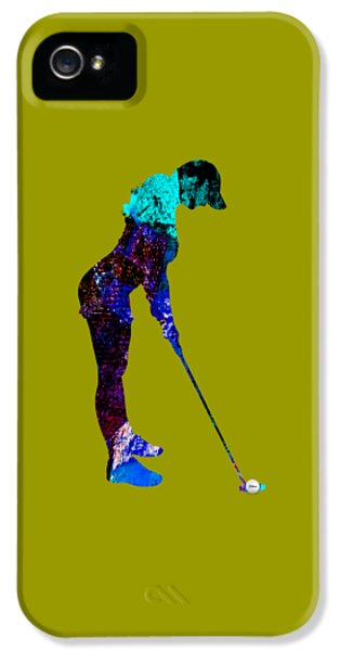 Womens Golf Collection IPhone 5 / 5s Case by Marvin Blaine
