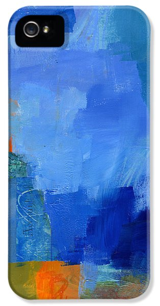 Abstract Canvas iPhone 5 Cases - 88/100 iPhone 5 Case by Jane Davies