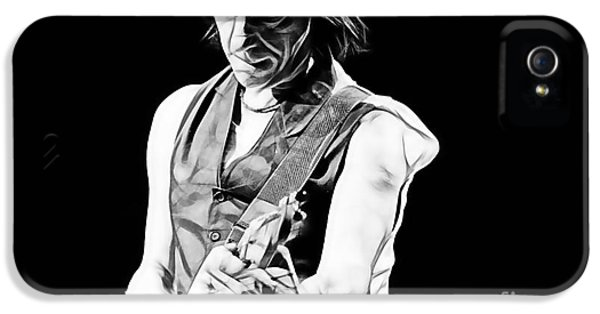 Cool iPhone 5 Cases - Jeff Beck Collection iPhone 5 Case by Marvin Blaine