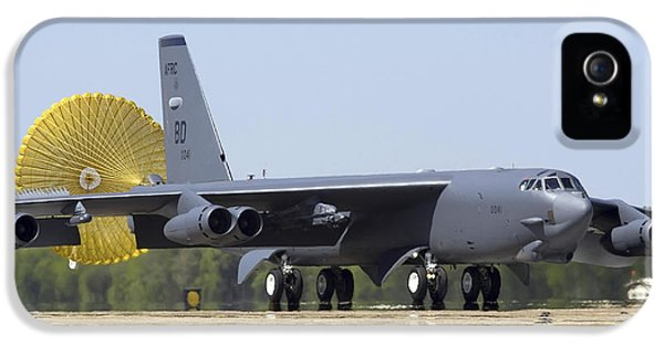 Strategic iPhone 5 Cases - A B-52 Stratofortress Deploys Its Drag iPhone 5 Case by Stocktrek Images