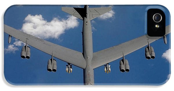Strategic iPhone 5 Cases - A B-52 Stratofortress iPhone 5 Case by Stocktrek Images
