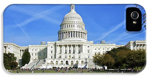 House Of Representatives iPhone 5 Cases - A Capitol View iPhone 5 Case by Mark Miller