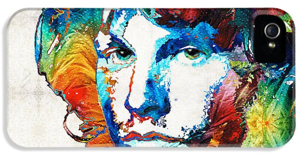Music Legend iPhone 5 Cases - A Lighted Fire iPhone 5 Case by Sharon Cummings