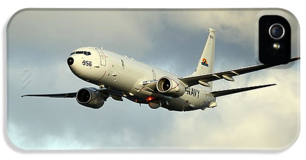 Conducting iPhone 5 Cases - A P-8A Poseidon conducts flyovers iPhone 5 Case by Celestial Images