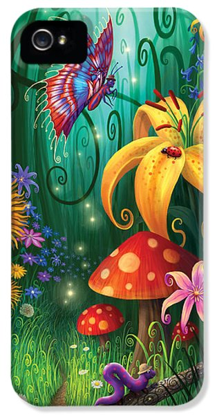 Fairies iPhone 5 Cases - A Secret Place iPhone 5 Case by Philip Straub