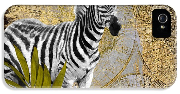A Taste Of Africa Zebra IPhone 5 / 5s Case by Mindy Sommers