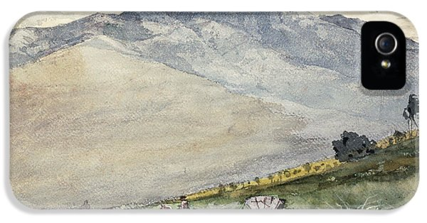 Homer iPhone 5 Cases - A Volante on a Mountain Road Cuba iPhone 5 Case by Winslow Homer
