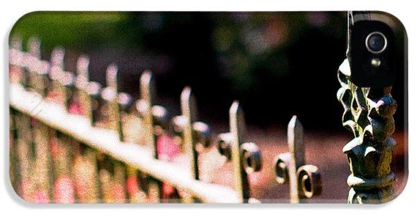 Gate iPhone 5 Cases - A Walk in the Garden iPhone 5 Case by Rebecca Cozart