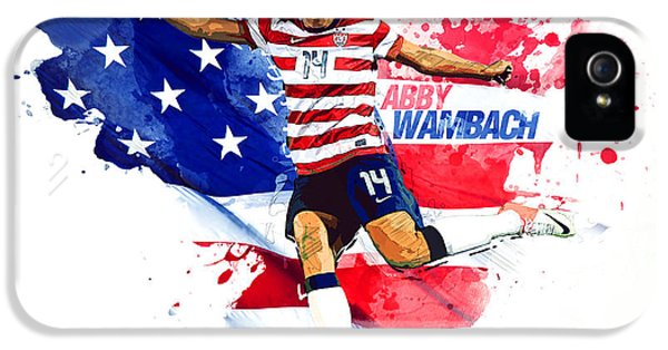 Abby Wambach IPhone 5 / 5s Case by Semih Yurdabak